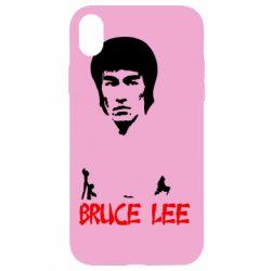 Чехол для iPhone XR Bruce Lee