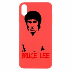 Чехол для iPhone Xs Max Bruce Lee