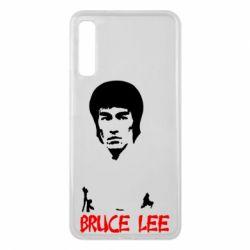 Чехол для Samsung A7 2018 Bruce Lee
