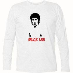 Футболка с длинным рукавом Bruce Lee - FatLine