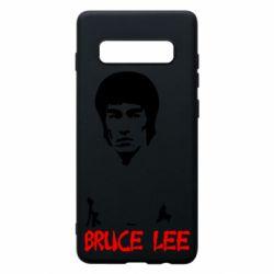 Чехол для Samsung S10+ Bruce Lee