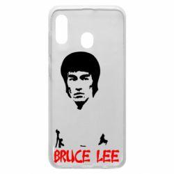 Чехол для Samsung A20 Bruce Lee