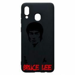 Чехол для Samsung A30 Bruce Lee