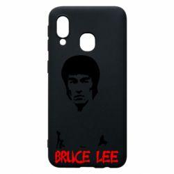 Чехол для Samsung A40 Bruce Lee