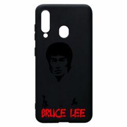 Чехол для Samsung A60 Bruce Lee