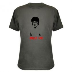 Камуфляжная футболка Bruce Lee