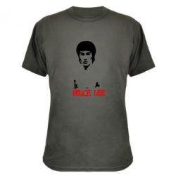 Камуфляжная футболка Bruce Lee - FatLine