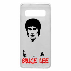 Чехол для Samsung S10 Bruce Lee
