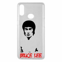 Чехол для Samsung A10s Bruce Lee
