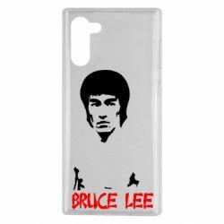 Чехол для Samsung Note 10 Bruce Lee