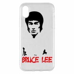 Чехол для iPhone X/Xs Bruce Lee