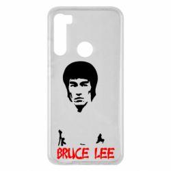 Чехол для Xiaomi Redmi Note 8 Bruce Lee