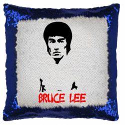 Подушка-хамелеон Bruce Lee
