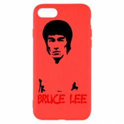Чехол для iPhone 8 Bruce Lee