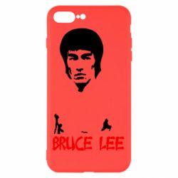 Чехол для iPhone 8 Plus Bruce Lee