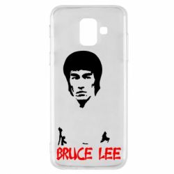 Чехол для Samsung A6 2018 Bruce Lee