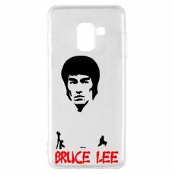 Чехол для Samsung A8 2018 Bruce Lee