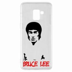 Чехол для Samsung A8+ 2018 Bruce Lee