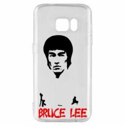 Чехол для Samsung S7 Bruce Lee