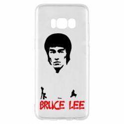 Чехол для Samsung S8 Bruce Lee