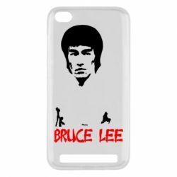 Чехол для Xiaomi Redmi 5a Bruce Lee