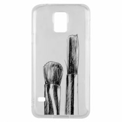 Чохол для Samsung S5 Brushes