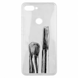Чохол для Xiaomi Mi8 Lite Brushes