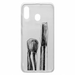 Чохол для Samsung A30 Brushes