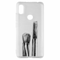 Чохол для Xiaomi Redmi S2 Brushes