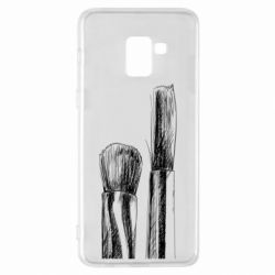 Чохол для Samsung A8+ 2018 Brushes