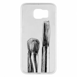 Чохол для Samsung S6 Brushes