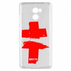 Чехол для Xiaomi Redmi 4 Brutto Logo