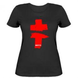 Женская футболка Brutto Logo