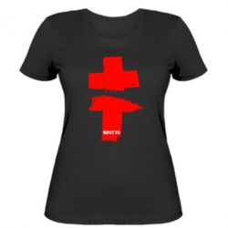 Женская футболка Brutto Logo - FatLine
