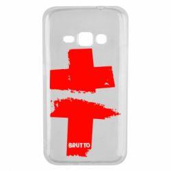 Чехол для Samsung J1 2016 Brutto Logo