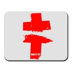 Коврик для мыши Brutto Logo