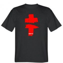 Мужская футболка Brutto Logo - FatLine