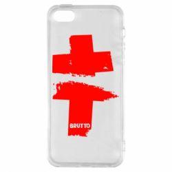 Чехол для iPhone5/5S/SE Brutto Logo
