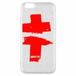 Чехол для iPhone 6/6S Brutto Logo