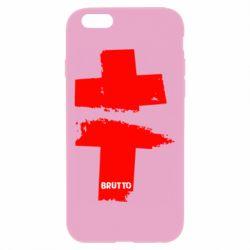 Чехол для iPhone 6 Plus/6S Plus Brutto Logo