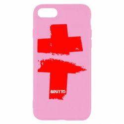 Чехол для iPhone 7 Brutto Logo