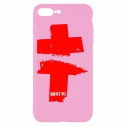 Чехол для iPhone 8 Plus Brutto Logo