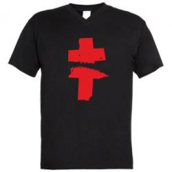 Мужская футболка  с V-образным вырезом Brutto - FatLine