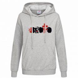 Женская толстовка Брутто - FatLine