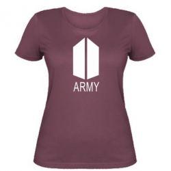 Жіноча футболка Bts army