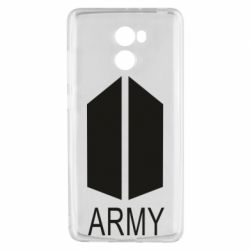 Чехол для Xiaomi Redmi 4 Bts army