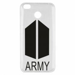 Чехол для Xiaomi Redmi 4x Bts army