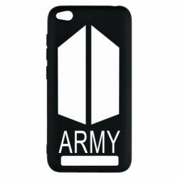 Чехол для Xiaomi Redmi 5a Bts army