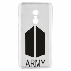 Чехол для Xiaomi Redmi Note 4 Bts army