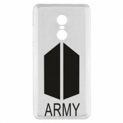 Чехол для Xiaomi Redmi Note 4x Bts army